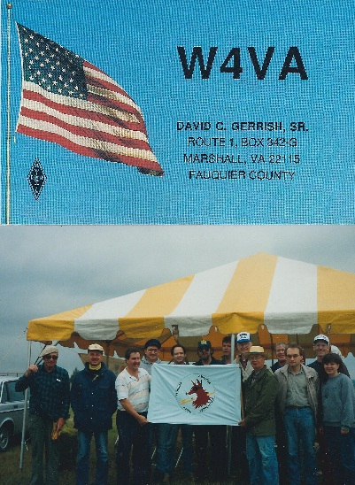 Past Field Day QSL and Club Station