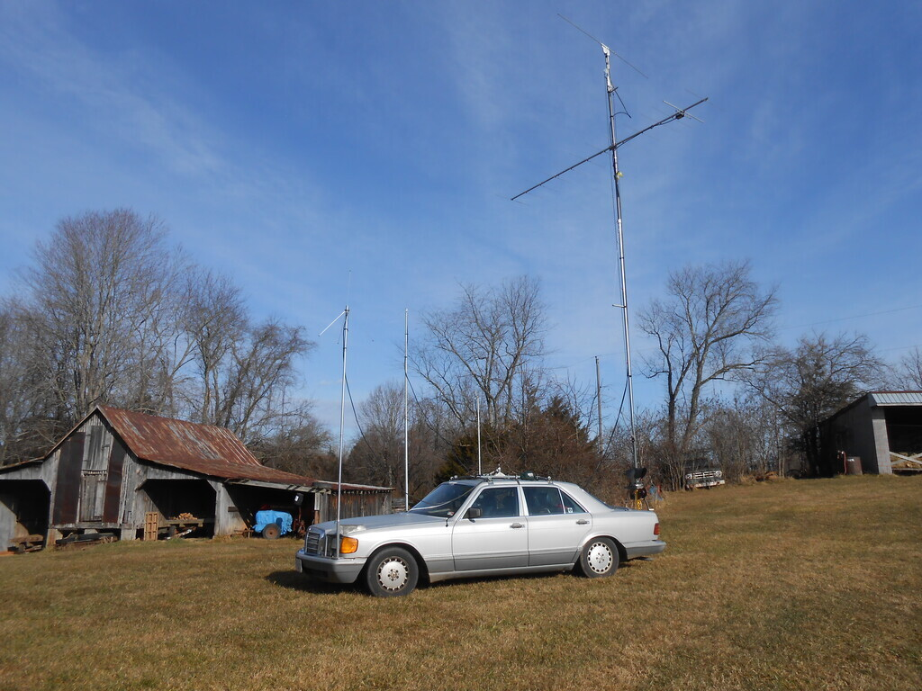KM4OZH/R Antenna's Side