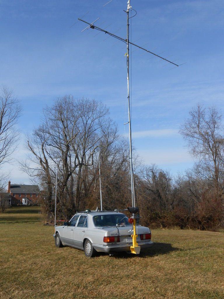 KM4OZH/R Antenna's Rear
